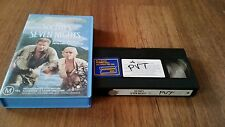 SIX DAYS SEVEN NIGHTS - HARRISON FORD, ANNE HECHE - VHS VIDEO TAPE