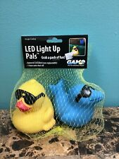 Game LED Light Up  Pals Duck and Dolphin  Pool or Spa