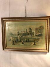 "Oil On Canvas Venetian Street Sigd""Romeri""30""X42"".C12pix4details&size.MAKE OFFER"