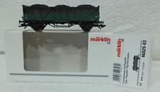 Marklin 46029 -03 NMBS SNCB Open bakwagen SPECIAAL Beladen met echte steenkool