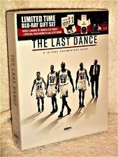 The Last Dance (Blu-ray, 2020, 3-Disc) Michael Jordan Chicago Bulls documentary