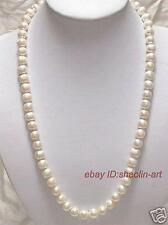 7-8 mm , blanc perle de culture ,collier ,60 cm