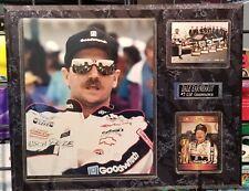 Vintage Dale Earnhardt Sr. Triple Pic Plaque Six Time Champion