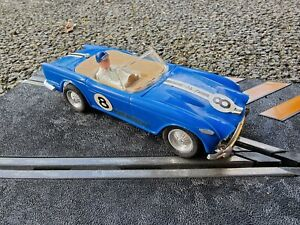 scalextric Triang Vintage Slot Car c84 triumph tr4a race tuned !!