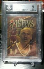1997-98 FINEST GOLD MASTER # 154 MICHAEL JORDAN / RARE / GEM MINT 9 BGS