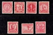"1930- U.S.  Commem ""The 2 Cent Reds"" 2c Carmine Sc#682-  Mint/H/OG Fresh Color"