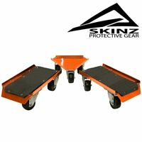 Skinz Protective Gear Pro Series Snowmobile Movers Dolly Wheels Dollies PSSM100
