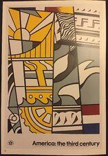 Roy Lichtenstein, America:the Third Century Pop Art Poster & Guild Hall East P74