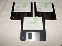 Turbo Science Ms-dos 3.5 floppy disks