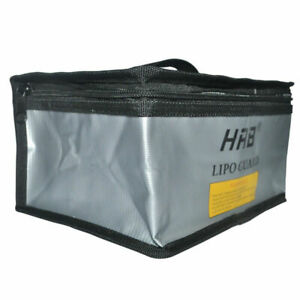 HRB Fireproof Explosion-Proof Bag RC LiPo Battery Safety Case Guard Sack Storage