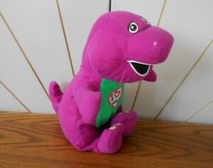 BARNEY THE PURPLE DINOSAUR talking/singing soft toy CHARACTER OPTIONS 2007