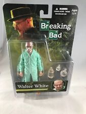 Breaking Bad Walter White in Green Hazmat suit figure Mezco 751208