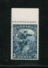 CANADA  1534 to 1934 400 ann. 3c  JACQUES CARTIER VF MLH #208  BOOK 100