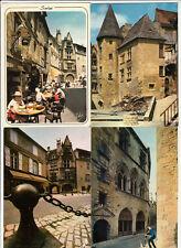 Lot 4 cartes postales DORDOGNE SARLAT 1