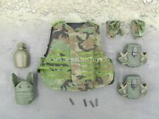 1/6 scale to101st Airborne Division - Jennifer - Woodland IBA Vest & Pouches Set