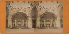 Lourdes Pèlerinages France Photo Viron Stereo N3 Vintage Albumine ca 1870