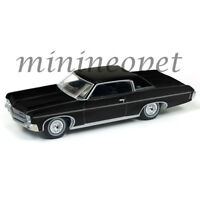 AUTOWORLD AW64102 1970 CHEVROLET IMPALA 1/64 DIECAST VERSION B BLACK