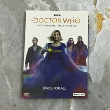 Doctor Who Complete Season 12 (Dvd, 2020, 4-Disc Set) Fast Shipping Us Seller
