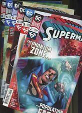 Superman 2,3,4,5,6,8 * 6 Books * DC Comics 2018-19! By Brian Michael Bendis!