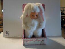 Baby Bunnies By Anne Geddes 15 Inch White Doll Brand New in Retail Box