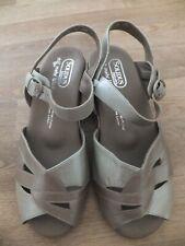 Solidus Bequem Damen Schuhe Sandalen Sandaletten Leder  6,5 / 39,5