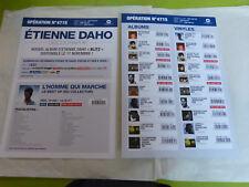 ETIENNE DAHO - DISCOGRAPHIE !!!PLAN MEDIA  / PRESS/KIT!!