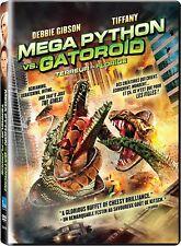 MEGA PYTHON VS. GATOROID DVD MOVIE- Great Gift- Brand New-Fast ship! VG-210679DV