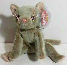 "TY Beanie Babies ""SCAT"" the Kitten Cat - MWMTs! Perfect Gift! RETIRED! MUST HAVE"