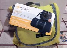 Outdoor Products Sport Duffle Medium and Pouch Color Citronelle  Carry NEW
