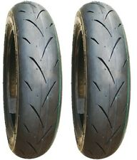 2 gomme in MESCOLA per VESPA/SCOOTER mod.Unilli mod.558A PRO2 Tubeless 3.50-10