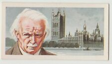 Original 1960s UK Trade Card - Welsh Welfare State Politician David Lloyd George