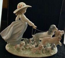 "New ListingLladrÓ Porcelain ""Puppy Parade"" Privilege Collection Figurine # 6784"