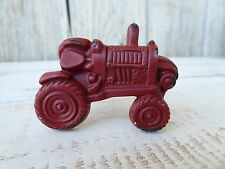 Red Tractor Drawer Pull Knob ~ FarmHouse Farming Country Home Decor