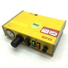 New listing Nordson Efd 900 Dispenser, Power: 120Vac, 50/60Hz, .75A, Pressure Gauge 0-100psi