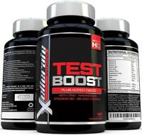 Testosterone Booster for Men 180 caps with Zinc 100% Guarantee UK Made