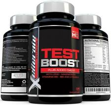 Testosterone Booster for Men 180 caps with Zinc, Maca root, Magnesium UK Made
