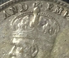 1919 KGV 5 cents Silver coin great detai UNC ??