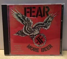 Fear More Beer CD 1985 or 1988 Restless Records Punk 11 Track Lee Ving