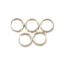 5 x 5 mm forte qualité anneaux argent sterling split-Parfait Pour Bracelets Charme