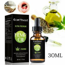 30ML Premium 50% Strong Strength Seed Extract Oil 2500mg Organic Herbal Drops