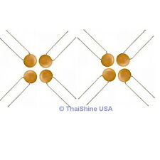 100 x 220pF 50V Ceramic Disc Capacitors 4 Days Delivery