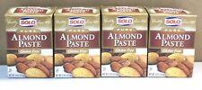 4 Pack Solo Pure Almond Paste 8 oz (227gr) Each  Gluten Free(L1)