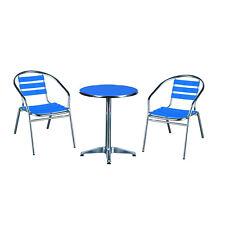 Aluminium Patio Garden Furniture Outdoor Indoor Backyard Table Chairs Bistro Set
