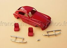 LM Voiture Ferrari 166 inter rouge resine miniature collector 1/43 Heco modeles