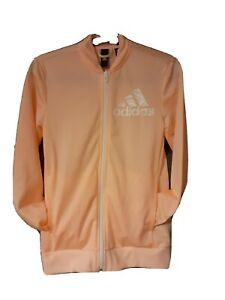 Girls Tracksuit Jacket Age 13-14 Years. (Adidas)