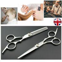 Hair Cutting Thinning Professional Barber Scissors Shears Set Hairdressing Salon
