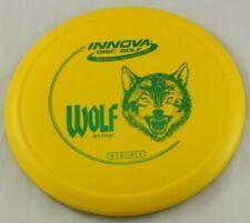 New Dx Wolf 167g Mid-Range Yellow Innova Disc Golf at Celestial Discs