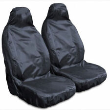 ISUZU TROOPER 92-03 HEAVY DUTY WATERPROOF FRONT BLACK SEAT COVERS 1+1 NEW sale
