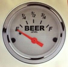 BEER FUNNY WEED POT MARIJUANA 420 RAT ROD HOT ROD STICKER   BEER LEVEL