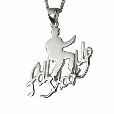 Elvis Presley -  All Shook Up Pendant - Silver